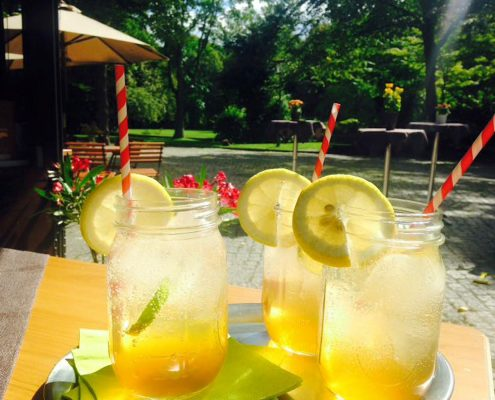 Sommerlust Zitronen-Minze-Limonade